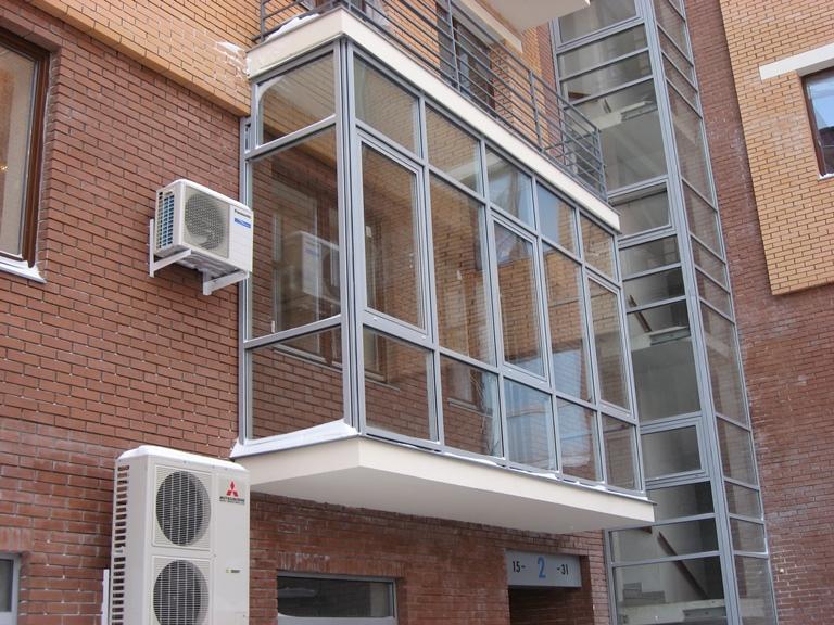 "Внешний вид балкона ""ласточкино гнездо"""