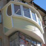Наружная отделка балкона самостоятельно