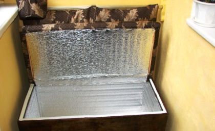 Погребок из морозильной камеры