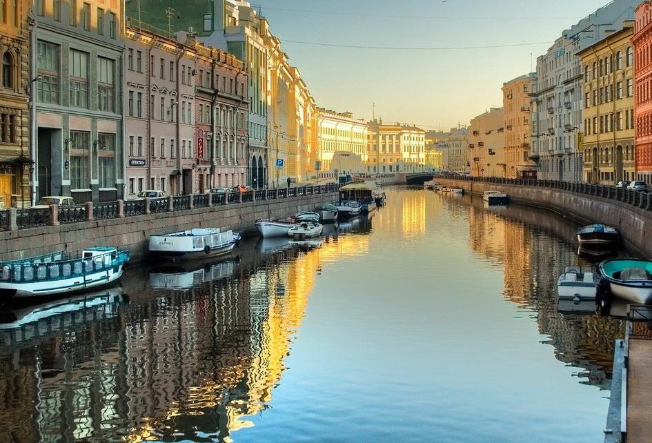Вид Санкт-Петербурга