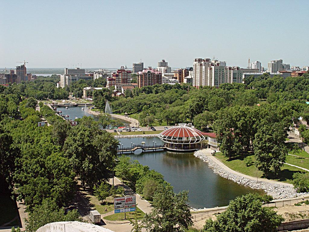 Вид Хабаровска