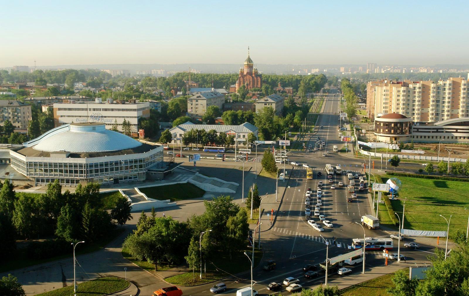 Панорама Кемерово