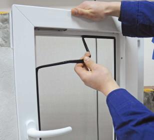 Замена уплотнителя на пластиковой конструкции
