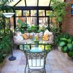 Зимний сад как вариант использования балконного пространства