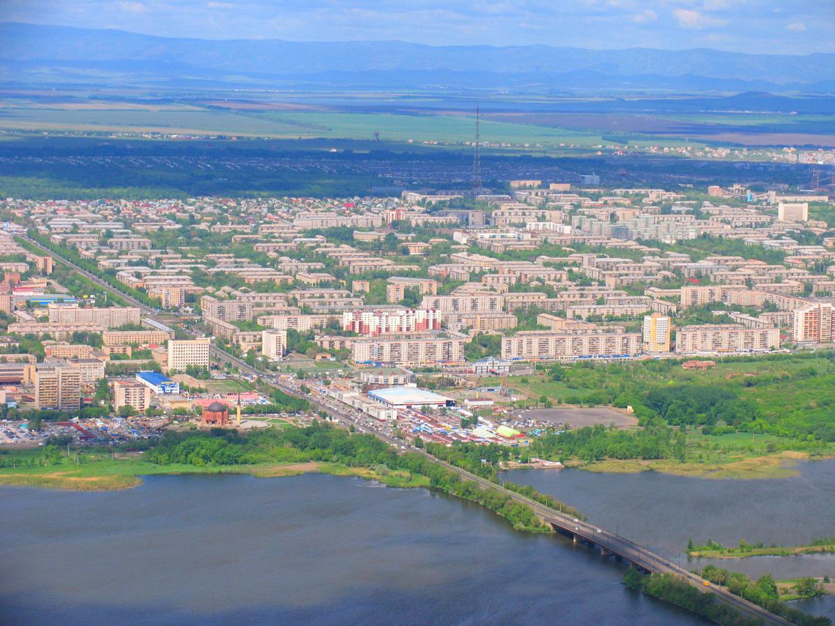 Панорама Магнитогорска