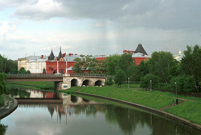 Пейзаж города Орел