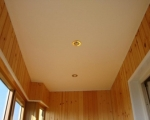 Потолок из гипсокартона-1