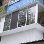Как остеклить балкон с выносом наружу