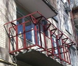 Обновление парапета балкона с выносом наружу