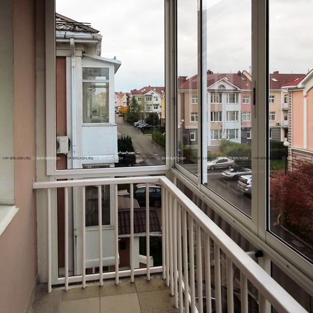 Витражное остекление вашего балкона.