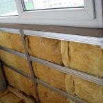 Как утеплить лоджию минеральной ватой?