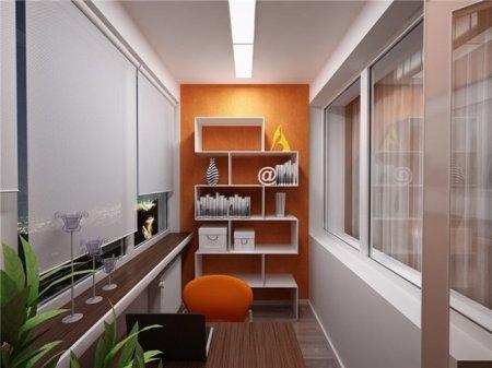Дизайн комнаты на лоджии 6 кв метров  фото