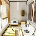 Варианты дизайна для лоджии площадью 8 квадратных метров