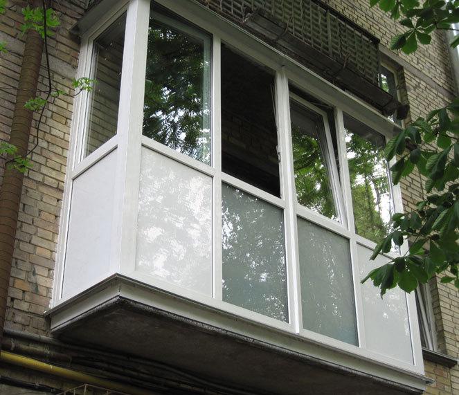 Как установить французский балкон в хрущевке.