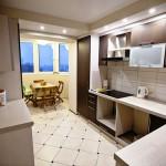 Совмещаем балкон и кухню своими руками