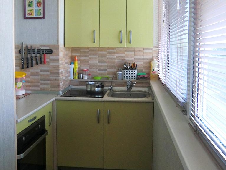 Переоборудование балкона в кухню фото