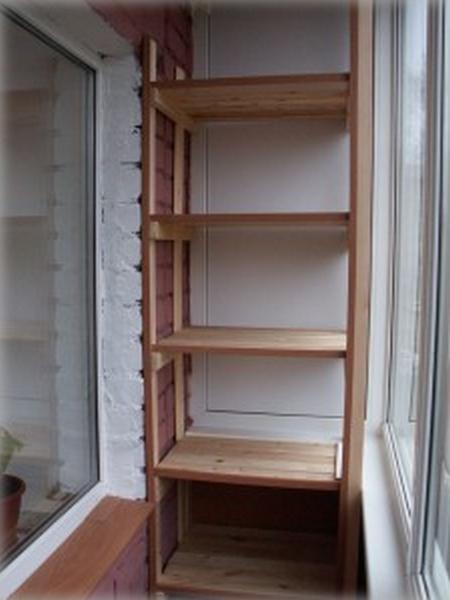 Изготовление полок для балкона самостоятельно