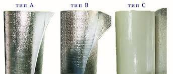 Фото различных типов пеновола