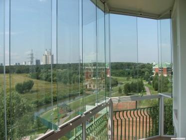Фото панорамы с балкона