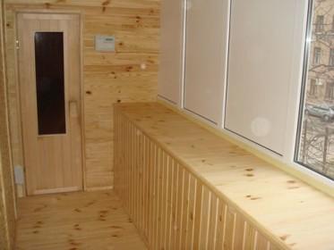 Фото дизайна балкона с сауной