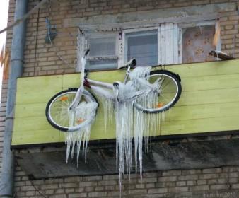Последствия неверного хранения велосипеда