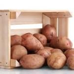 Хранение картофеля в условиях балкона