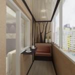 Установка натяжных потолков на балконе