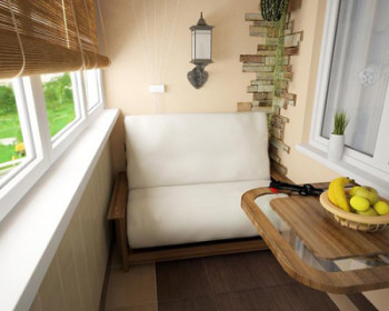 Использование балкона в качестве жилой комнаты