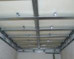 Монтаж потолка из гипсокартона-2